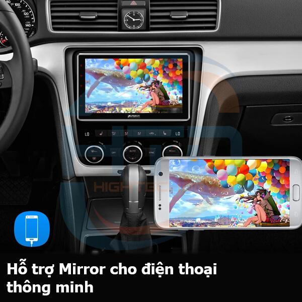 Tinh nang Mirroring Smart Carplay AI Box D10
