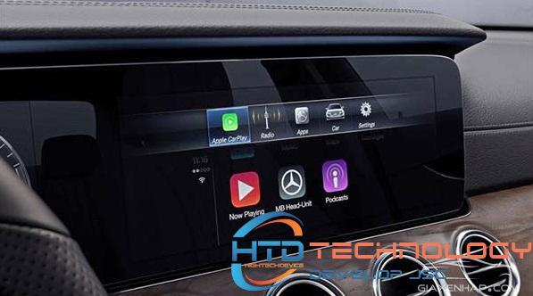 Apple CarPlay tích hợp nhiều chức năng