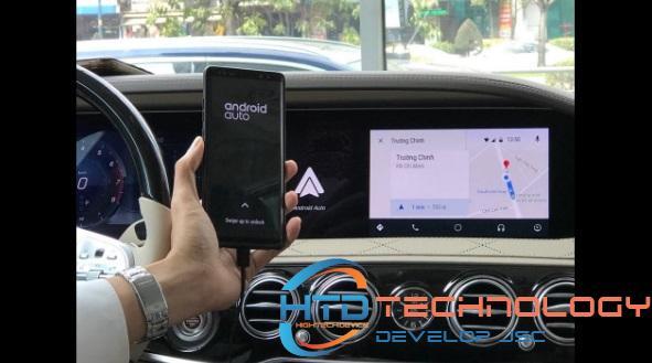 Chức năng chỉ đường Android Auto