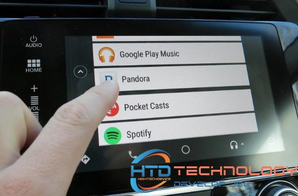 Ứng dụng Android Auto là sự kết hợp hoàn hảo của điện thoại và xe hơi