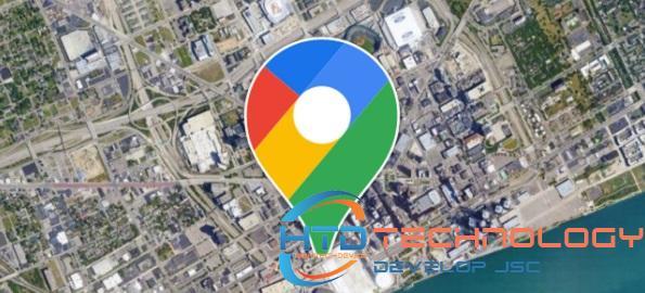 Google Maps là phần mềm chỉ đường trên ô tô được sử dụng phổ biến